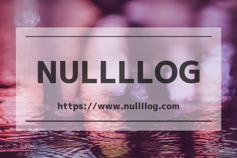 nullllog