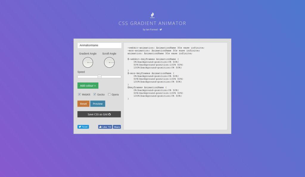 CSSGradientAnimator