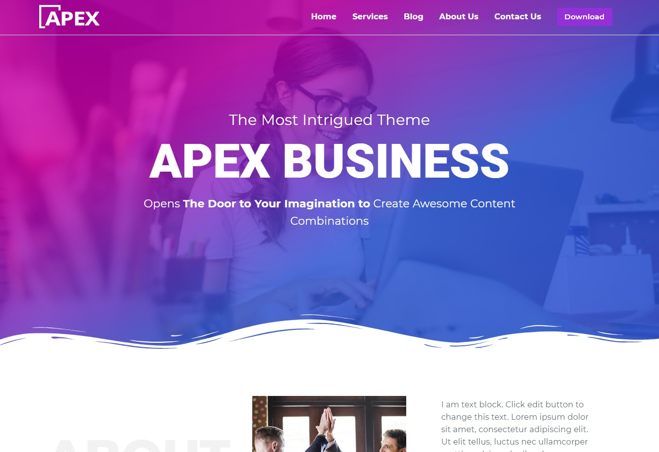 WordPressテーマ Apex Business